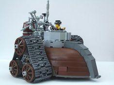 Lego Steampunk Mini Tank #lego #steampunk