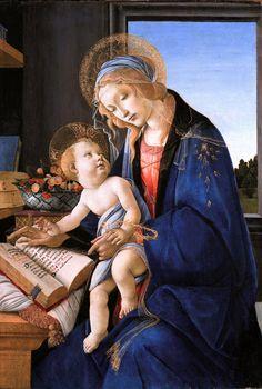 Madonna del Libro. Dipinto a tempera su tavola (58x39,5 cm) databile al 1480-1481 circa, e conservato nel Museo Poldi Pezzoli di Milano.