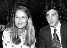Meryl Streep et Al Pacino. 1980.