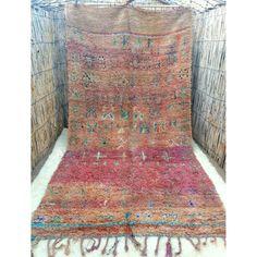 Moroccan boujaad rug 320 x 160 cm