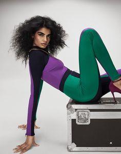Bhumika Arora Looks 80's Glam in Grazia UK Editorial