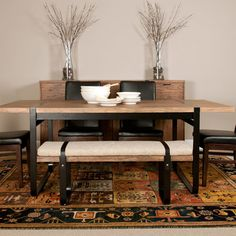 Orient Express Furniture Traditions Santa Fe Dining Table | AllModern