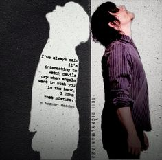 Norman Reedus quote, but doesn't this just scream a little bit Supernatural? Or, well, a lot.