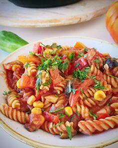 Elabora un #fusilli sin gluten a la #mexicana, una #receta que transportará todo el #sabor a nuestros sentidos. ¡Recuerda al sabor del #chili con carne con un toque jugoso!