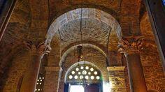 Roof of Agios Loukas Monastery, central Greece