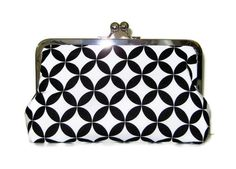 CLUTCH PURSE for Bride or  Bridesmaids Alex Henry by cutiegirlie, $35.00