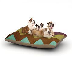 "Catherine McDonald ""Mountain High"" Art Object Dog Bed"