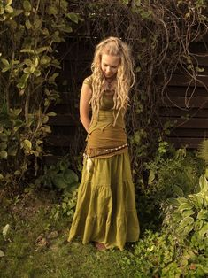 One day I'll have dreads and dance barefoot in the woods all dressed in green..