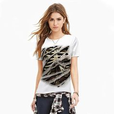 Fashion 2017 T-shirts Women Summer White Couple T Shirt For Lovers Cool  Spiderman Superman Skeleton 3d T Shirt Women Halloween ae1c9a9cb