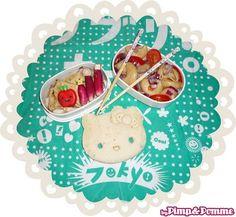 Bento Hello Kitty / Pimp and Pomme