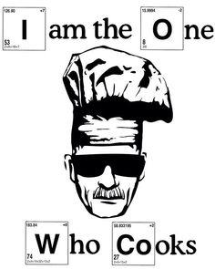 Walter White Cook breaking bad Heisenberg stencil