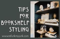 Decorating Bookshelves: A How To