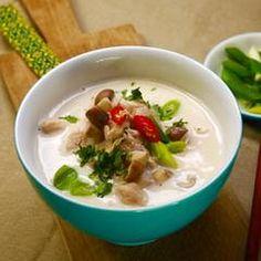 Kokos-Curry-Suppe mit Garnelen | BRIGITTE.de