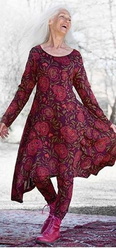 Gudrun Sjödén ♥FCL...I have this exact outfit... but I don't look as gorgeous in it .....