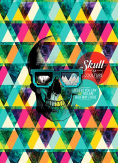 Skulls // Design Art Collection // Credeal™ notebooks