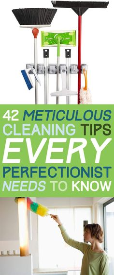 MK -Really good list! 42 Seriously Useful Tips Every Clean Freak Needs To Know #bathroomcleaningtips