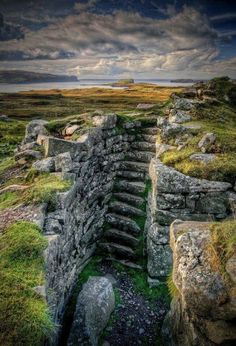 The House of Healing - hammer-ov-thor:  Dunbeag Broch (Iron age...