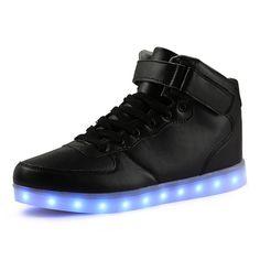 df5adb4f219d Tutuyu kids light up shoes de carga usb led niños shoes con Tacón Alto  Casuales Muchachas