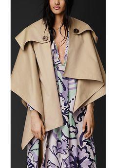 Women's Fashion Cloak Coat Cape Outwear Jacket Coat
