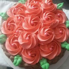 Rose, Flowers, Plants, Pastries, Pink, Roses, Flora, Royal Icing Flowers, Floral