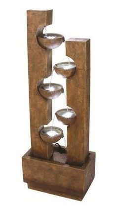 Goletta Outdoor Water Fountain  $325.00 |  soothingwalls.com