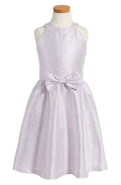 Free shipping and returns on Soprano Metallic Fit & Flare Dress (Big Girls) at Nordstrom.com. She'll shine this party season in a shimmery metallic dress with a flared skirt and pretty bow at the waist.