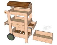 Saddle / Tack Caddy #1: Saddle / Tack Caddy Design - by RandyMorter @ LumberJocks.com ~ woodworking community