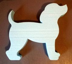 CONCRETE MOLD This cute puppy has to go into your garden :-) In the pictures you . Wooden Projects, Wood Crafts, Diy And Crafts, Wood Craft Patterns, Animal Templates, Gifts For Dog Owners, Animal Silhouette, Wooden Animals, Wood Cutouts