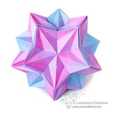 Dominanta kusudama ||| the smaller configurations are beautiful, too.