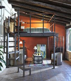 1000 images about mezzanine lofts on pinterest loft loft beds and stair kits. Black Bedroom Furniture Sets. Home Design Ideas