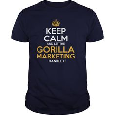 Awesome Tee For Gorilla Marketing T-Shirts, Hoodies. Get It Now ==► https://www.sunfrog.com/LifeStyle/Awesome-Tee-For-Gorilla-Marketing-130635915-Navy-Blue-Guys.html?id=41382