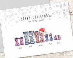 Custom Christmas Cards, Family Christmas Cards, Personalised Christmas Cards, Button Family Picture, Family Picture Frames, Wall Ideas, Decor Ideas, Gift Ideas, Shower Party