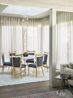 Contemporary Cream Dining Room