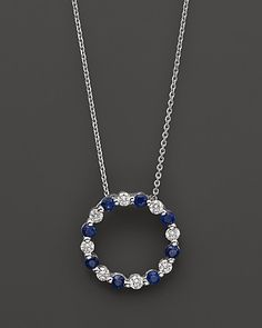Diamond and Sapphire Pendant would be perfect for my 2 babies Sept birthstone (hint, hint Geoff)!!!