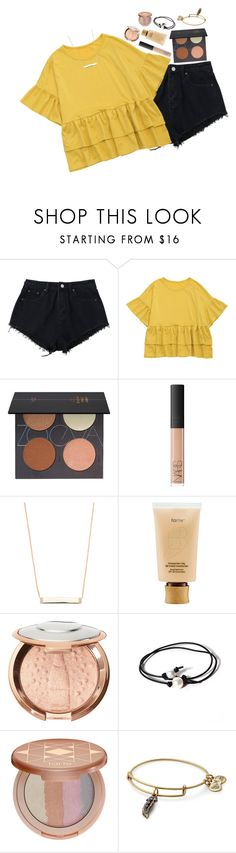 """leaving for Canada tomorrow !!"" by beingrach ❤ liked on Polyvore featuring ZOEVA, NARS Cosmetics, Casa Reale, tarte, Joie, Alex and Ani and country"