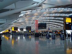 Heathrow Terminal 5 departures level (LHR), England