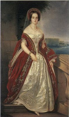 Harriet Bodisco (b. 1824), neé Beall Brooks Williams, married the Russian ambassador in the USA Alexander Bodisco | Johann Conrad Dorner (1844)