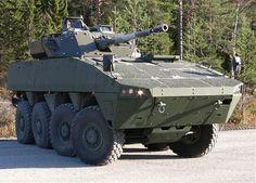 AMV35 8x8 combat reconnaisance armoured vehicle