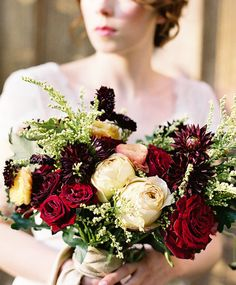 Navy & Gold Luxe Winter Wedding Inspiration   Wedding Sparrow