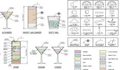 Software Technician Dissects And Draws 'The Architecture Of Cocktails' - DesignTAXI.com
