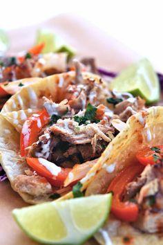 Pork Ribeye Roast Cuban Mojo Tacos