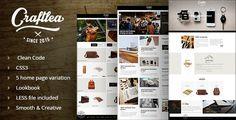 Craftlea - Vintage Handmade Store - Blog Template  -  https://themekeeper.com/item/site-templates/craftlea-handmade-store-blog-template