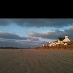 Cobo beach Guernsey