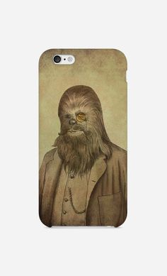 Coque iPhone Chancellor Chewie by Terry Fan | Art Shop | Wooop.fr