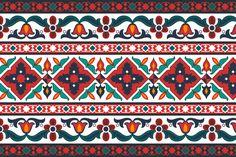 Azerbaijani & Turkish Ornament Graphics Azerbaijan & Turkish style ornament- Vector EPS High quality JPEG- High quality PNG by Rasul's Shop Turkish Design, Turkish Art, Turkish Style, Graphic Patterns, Print Patterns, Pichwai Paintings, Turkish Pattern, Wall Stencil Patterns, Islamic Patterns