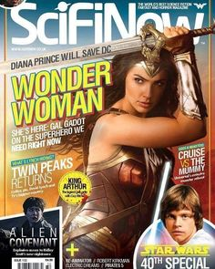 regram @galgadot_it Issue 132 of SciFiNow is out now!  In our latest issue we venture to Themyscira to talk to Wonder Woman star Gal Gadot and director Patty Jenkins about how Diana Prince may well end up saving the DCEU. We also celebrate Star Wars 40th anniversary covering everything from A New Hope to the new movies via Rebels Expanded Universe and John Williams speak with the cast of The Mummy about resurrecting the Universal legend and bringing it to the present day and go behind the…