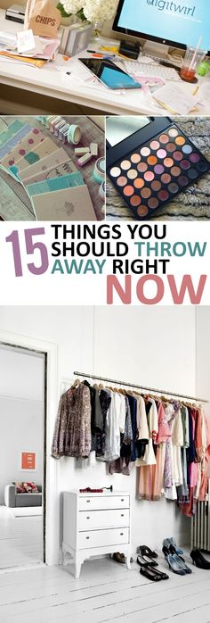 15 Things You Should Throw Away Right Now - Sunlit Spaces
