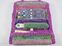 Hook Knitting Patterns : Crochet hook holder case [free pattern and video tutorial