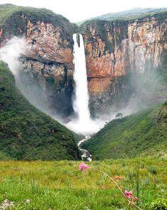 Tabuleiro Waterfall, Brazil