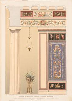 Karl Friedrich Schinkel (1781-1841) Decoration of the vestibule of Charlottenhof…